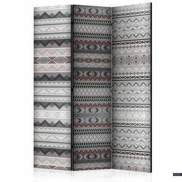 Parawan 3-częściowy - Etniczny deseń