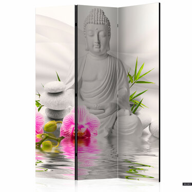 Parawan 3-częściowy - Orquidiana (buddyzm)