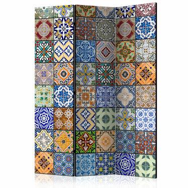 Parawan 3-częściowy - Kolorowa mozaika