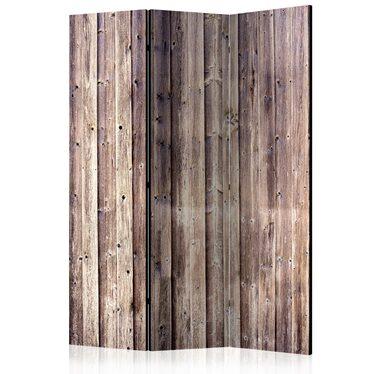 Parawan 3-częściowy - Drewniany urok