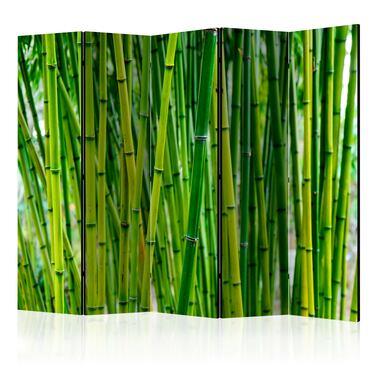 Parawan 5-częściowy - Bambusowy las