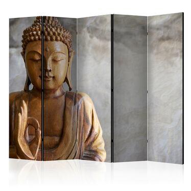 Parawan 5-częściowy - Budda