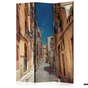 Parawan 3-częściowy - Wakacyjna uliczka