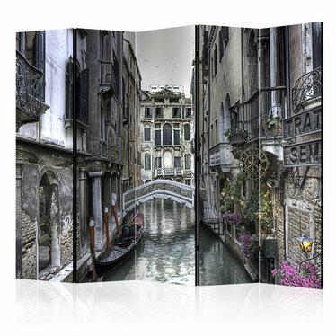 Parawan 5-częściowy - Romantyczna Wenecja