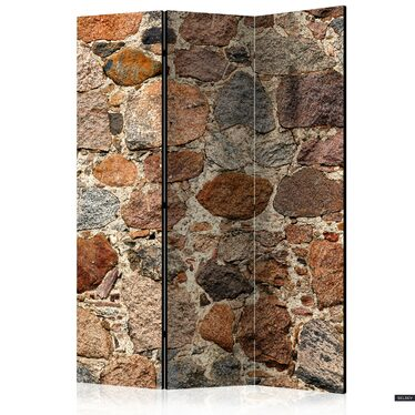 Parawan 3-częściowy - Kamienny artyzm