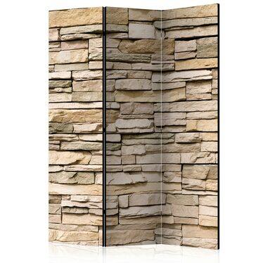 Parawan 3-częściowy - Kamień ozdobny