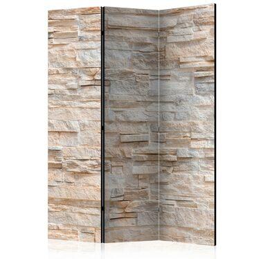 Parawan 3-częściowy - Kamienne wyrafinowanie