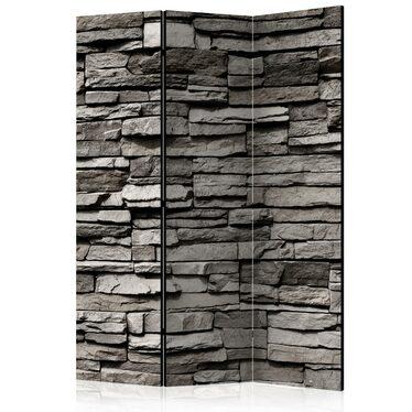 Parawan 3-częściowy - Kamienna fasada