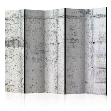 Parawan 5-częściowy - Betonowa ściana