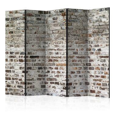Parawan 5-częściowy - Stare mury