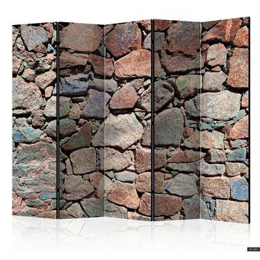 Parawan 5-częściowy - Kamienne serce