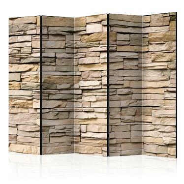 Parawan 5-częściowy - Kamień ozdobny