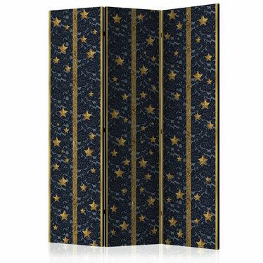 Parawan 3-częściowy - Koronkowy gwiazdozbiór