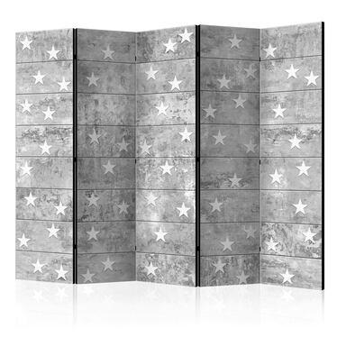 Parawan 5-częściowy - Gwiazdki na betonie