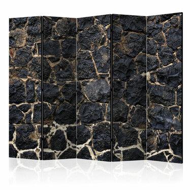 Parawan 5-częściowy - Kamienny zmierzch