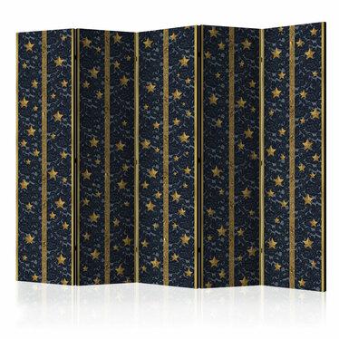 Parawan 5-częściowy - Koronkowy gwiazdozbiór