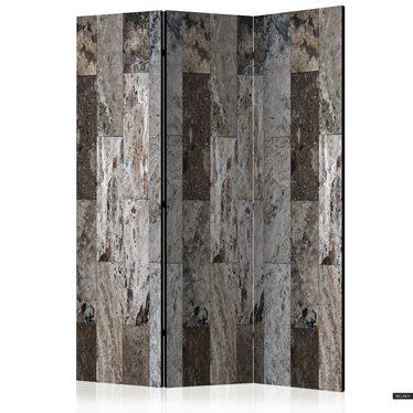 Parawan 3-częściowy - Marmurowa mozaika