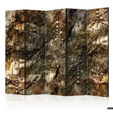 Parawan 5-częściowy - Marmurowe skarby