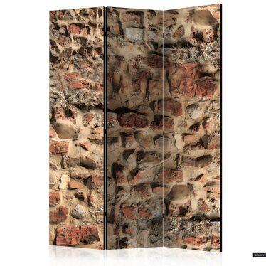 Parawan 3-częściowy - Starożytny mur
