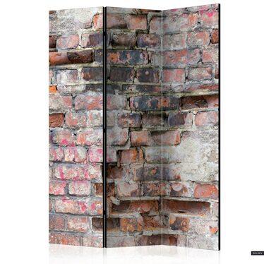 Parawan 3-częściowy - Stary mur