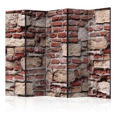 Parawan 5-częściowy - Vintage Wall