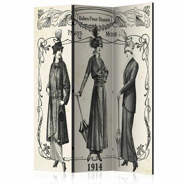 Parawan 3-częściowy - Dress 1914