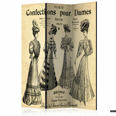 Parawan 3-częściowy - Confections pour Dames