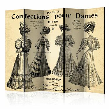 Parawan 5-częściowy - Confections pour Dames
