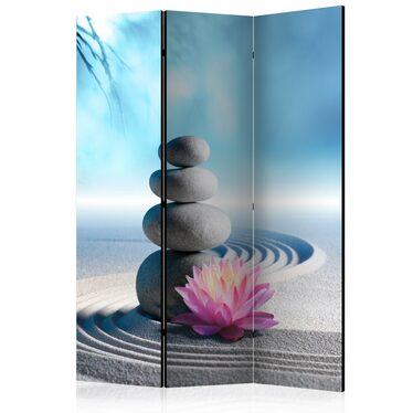 Parawan 3-częściowy - Ogród Zen