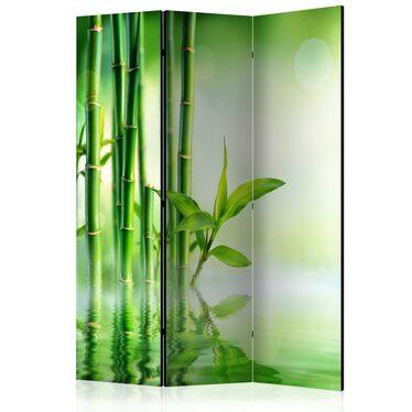 Parawan 3-częściowy - Zielony bambus