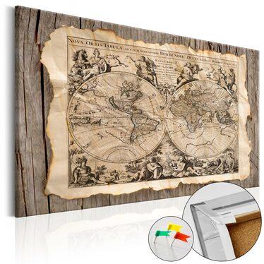 Tablica korkowa Mapa przeszłości