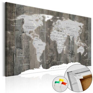 Tablica korkowa Świat z drewna
