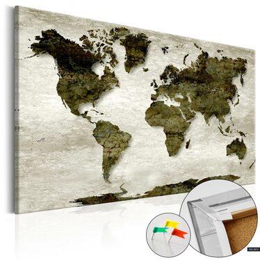 Tablica korkowa Zielona planeta