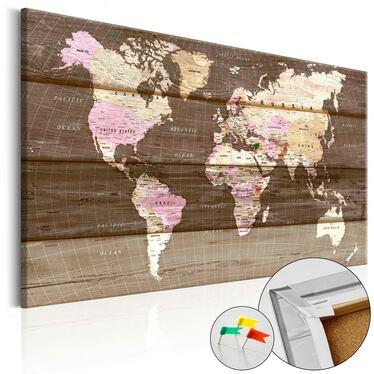 Tablica korkowa Drewniany świat