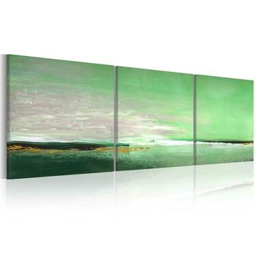 Obraz malowany - Seledynowe wybrzeże