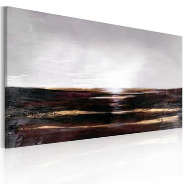 Obraz malowany - Czarny ocean