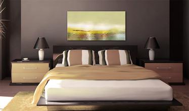 Obraz malowany - Nadchodząca fala