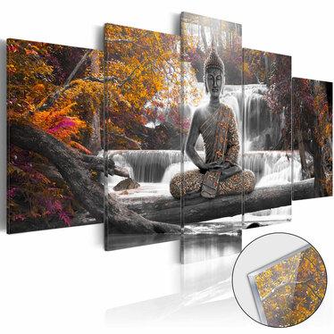 Obraz na plexi - Jesienny Budda