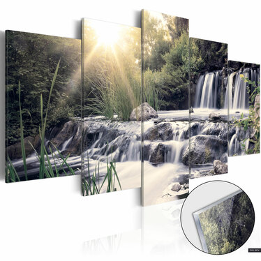 Obraz na plexi - Wodospad snów