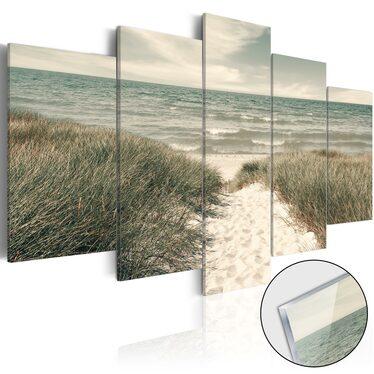 Obraz na plexi - Cicha plaża