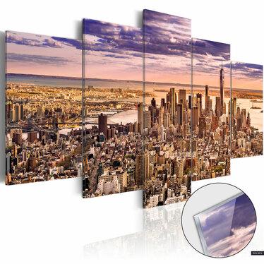 Obraz na plexi - Bezsenność w Nowym Jorku