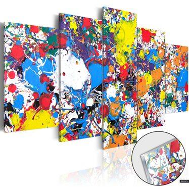 Obraz na plexi - Kolorowa wyobraźnia