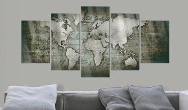 Obraz na plexi - Plexi: Mapa retro