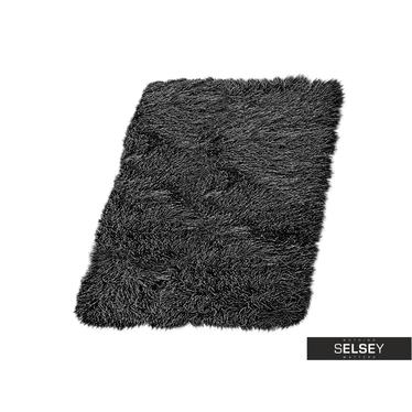 Dywan Fluffy 9 cm czarny