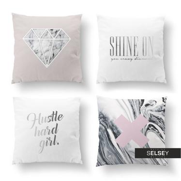 Zestaw poduszek dekoracyjnych Shine like a Diamond