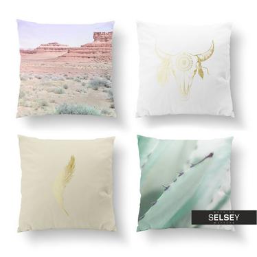 Zestaw poduszek dekoracyjnych Wild Boho