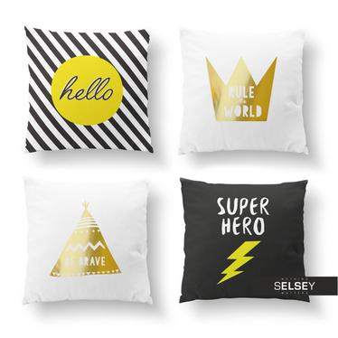 Zestaw poduszek dekoracyjnych Super Hero