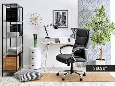 Fotel biurowy Luks czarny obrotowy