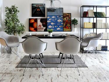 Krzesło MPA rod tap szare tapicerowane z podłokietnikami