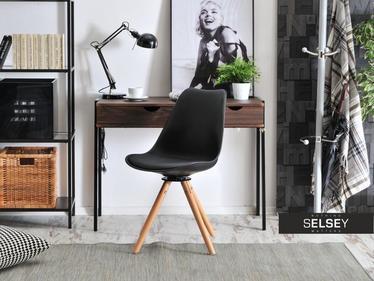 Krzesło Luis rot czarne-buk obrotowe